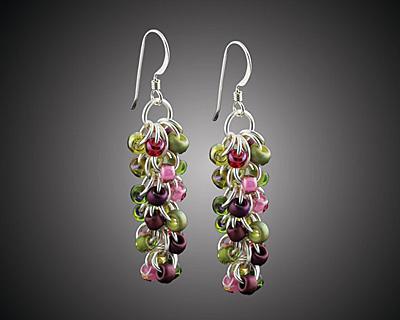 Weave Got Maille Rose Garden Shaggy Loops Earring Kit
