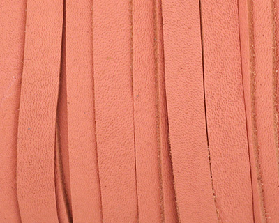 Pink Deertan Lace Leather 5mm