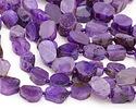 Purple Agate Freeform Slice 18-30mmx14-21mm