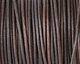 Natural Ebony Leather Cord 2mm