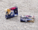 Zola Elements Twilight Acetate Rectangle Link 14x10mm