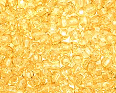 TOHO Transparent Light Topaz Round 11/0 Seed Bead