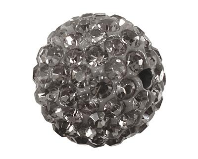 Black Diamond Pave Round 12mm