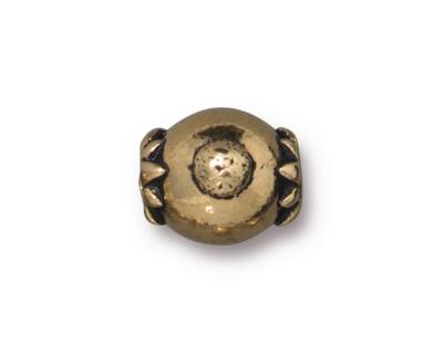 TierraCast Antique Gold (plated) Lotus Guru Style Bail 9x16mm