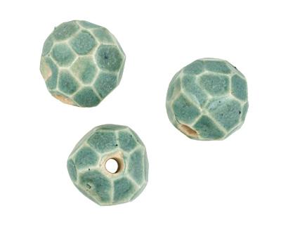Gaea Ceramic Atlantis Geode Round 11-12x13-14mm