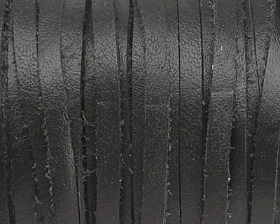 Black Deertan Leather Lace 3mm