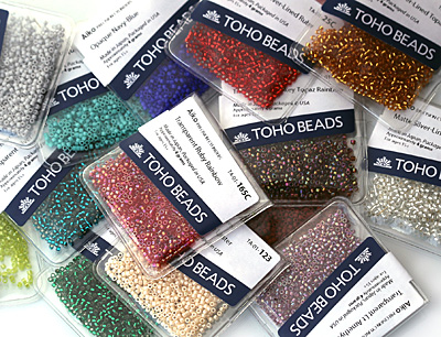 TOHO Aiko Transparent Lustered Light Sapphire Precision Cylinder 11/0 Seed Bead