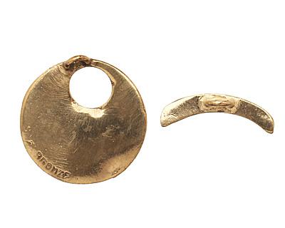 Saki Bronze Yan Burst Toggle 24mm, 21mm bar