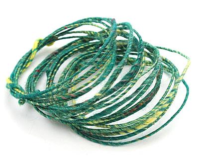 Calypso Green WoolyWire 24 gauge, 3 feet
