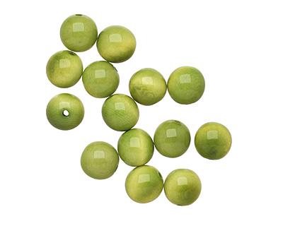 Tagua Nut Apple Round 11-12mm