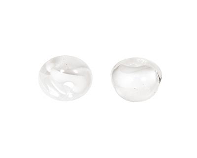 Unicorne Beads Coconut White Teardrop 7x9mm