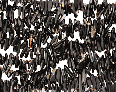 Black Agate Sticks 1-6x15-24mm