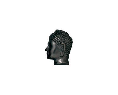 TierraCast Gunmetal Buddha Bead 13x10mm