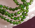 Chrome Diopside Faceted Round 3.5mm