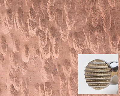 Texturing Hammer Round Checkered & Wide Pinstripe