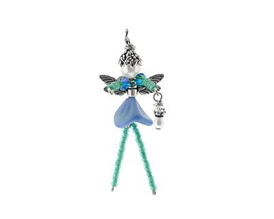 Glass Garden Summer Blue Fairy Kit