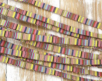 Sun & Sand Flat Woven Cotton Cord 10mm