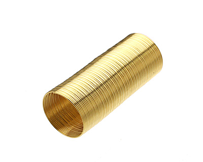 Memory Wire Gold (plated) Ring .5 oz.