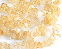 Citrine Side-Drilled Little Spikes 2-3x10-15mm