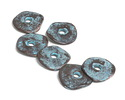 Greek Copper (plated) Patina Small Washer 15mm