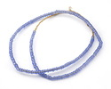 African Trade Beads Periwinkle Glass 3-5mm