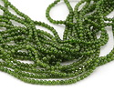 Chrome Diopside Round 3-4mm