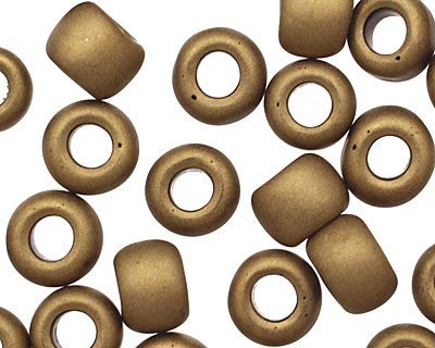 TOHO Frosted Bronze Round 6/0 Seed Bead