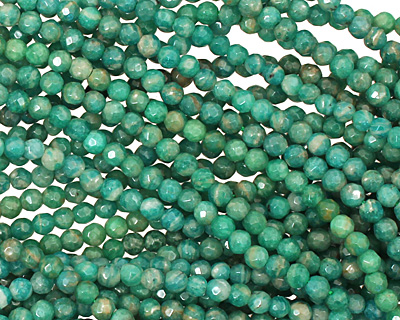 INACTIVE Russian Amazonite Faceted Round 4mm