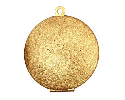 Brass Maiden Heirloom Locket 30x35mm