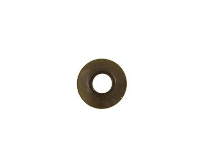 Tagua Nut Camo Large Hole Rondelle 3x8mm