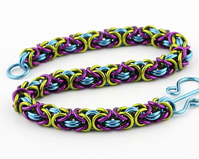 Weave Got Maille Frolic Byzantine Bracelet Kit