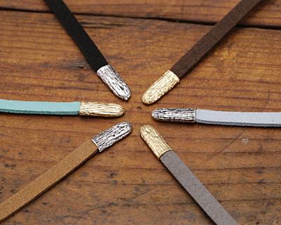 Dark Brown Microsuede Flat Cord 5mm