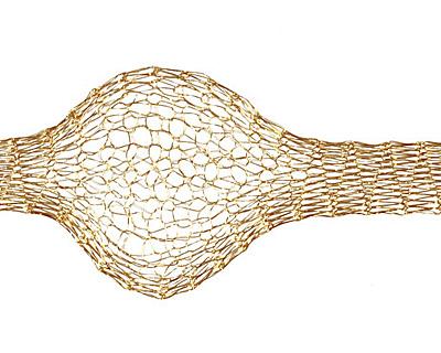 WireLace Brass Ribbon 6mm