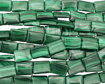 Malachite Thin Pillow 18x13mm