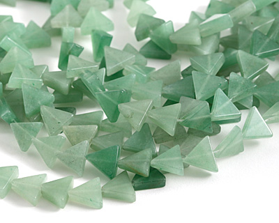 Green Aventurine Triangle 12-13x13-15mm