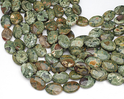 Rhyolite Flat Oval 25x18mm