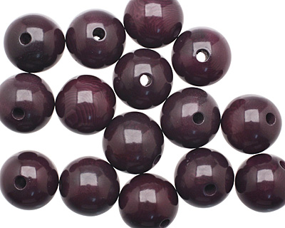 Tagua Nut Grape Round 16mm