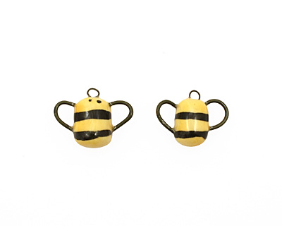 Jangles Ceramic Woodland Bumble Bee 20-24x17-19mm