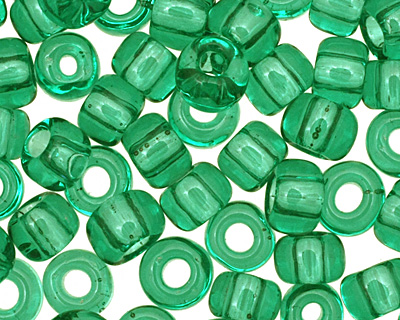 TOHO Transparent Beach Glass Green Round 6/0 Seed Bead