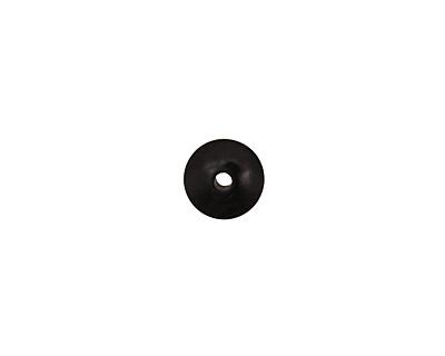 Tagua Nut Black Rondelle 3x8mm