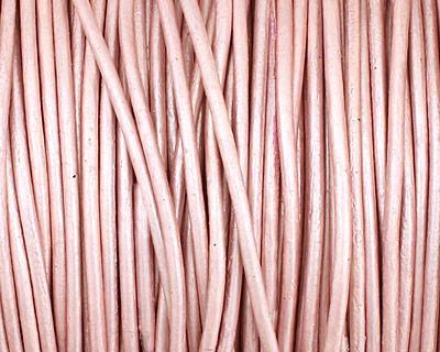 Suraiya (metallic) Round Leather Cord 1.5mm
