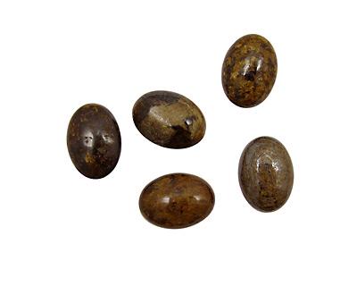 Bronzite Oval Cabochon 13x18mm
