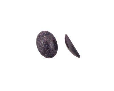 Blue Goldstone Oval Cabochon 13x18mm