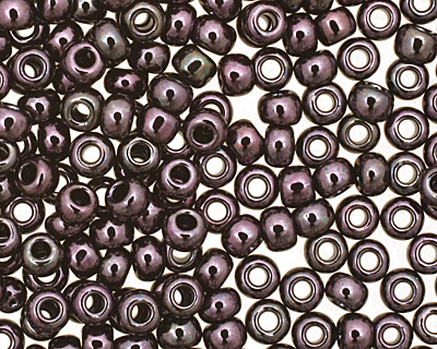 TOHO Metallic Amethyst Gun Metal Round 11/0 Seed Bead