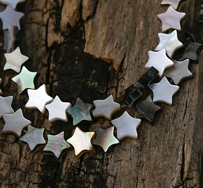 Black Lip Shell Star 6mm