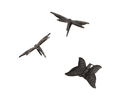Vintaj Arte Metal Fairy Butterfly Decorivet 25x14mm