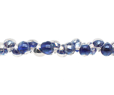 Unicorne Beads Luster Circus Bubbles Mini Teardrop 5x7mm