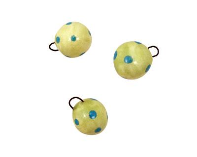 Jangles Ceramic Lime Ball Charm 12-15mm