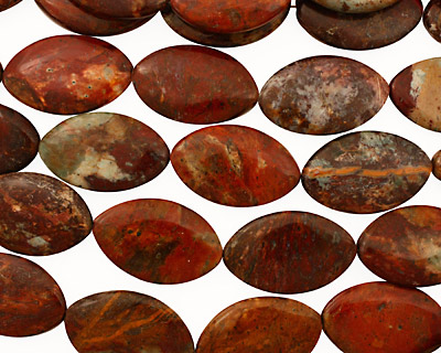 African Rainbow Agate Horse Eye 39x25mm