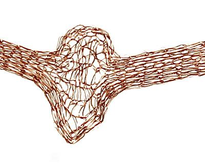 WireLace Cocoa Ribbon 3mm